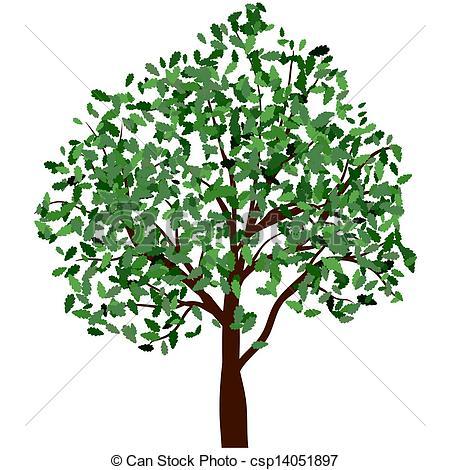 Season clipart summer tree #9