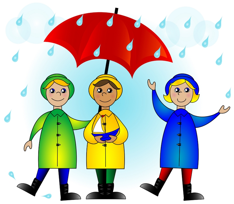 Season clipart wet weather #12