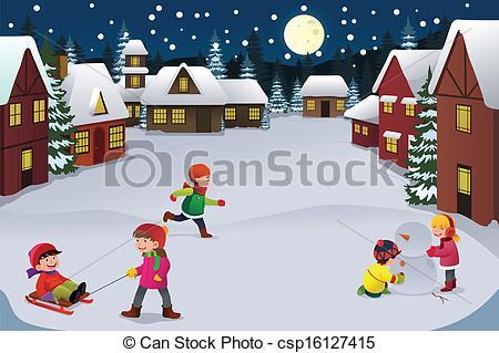 Winter clipart winter wonderland Of  Art Kids wonderland