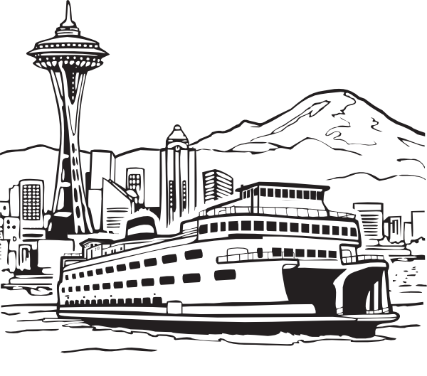 Seattle clipart #3