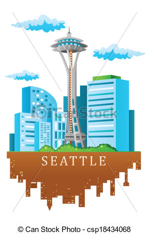 Seattle clipart #11