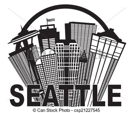 Seattle clipart #13