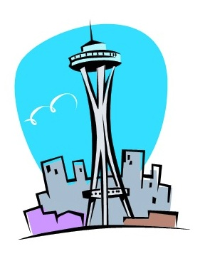 Seattle clipart #2