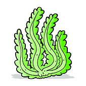 Seaweed clipart animated #3