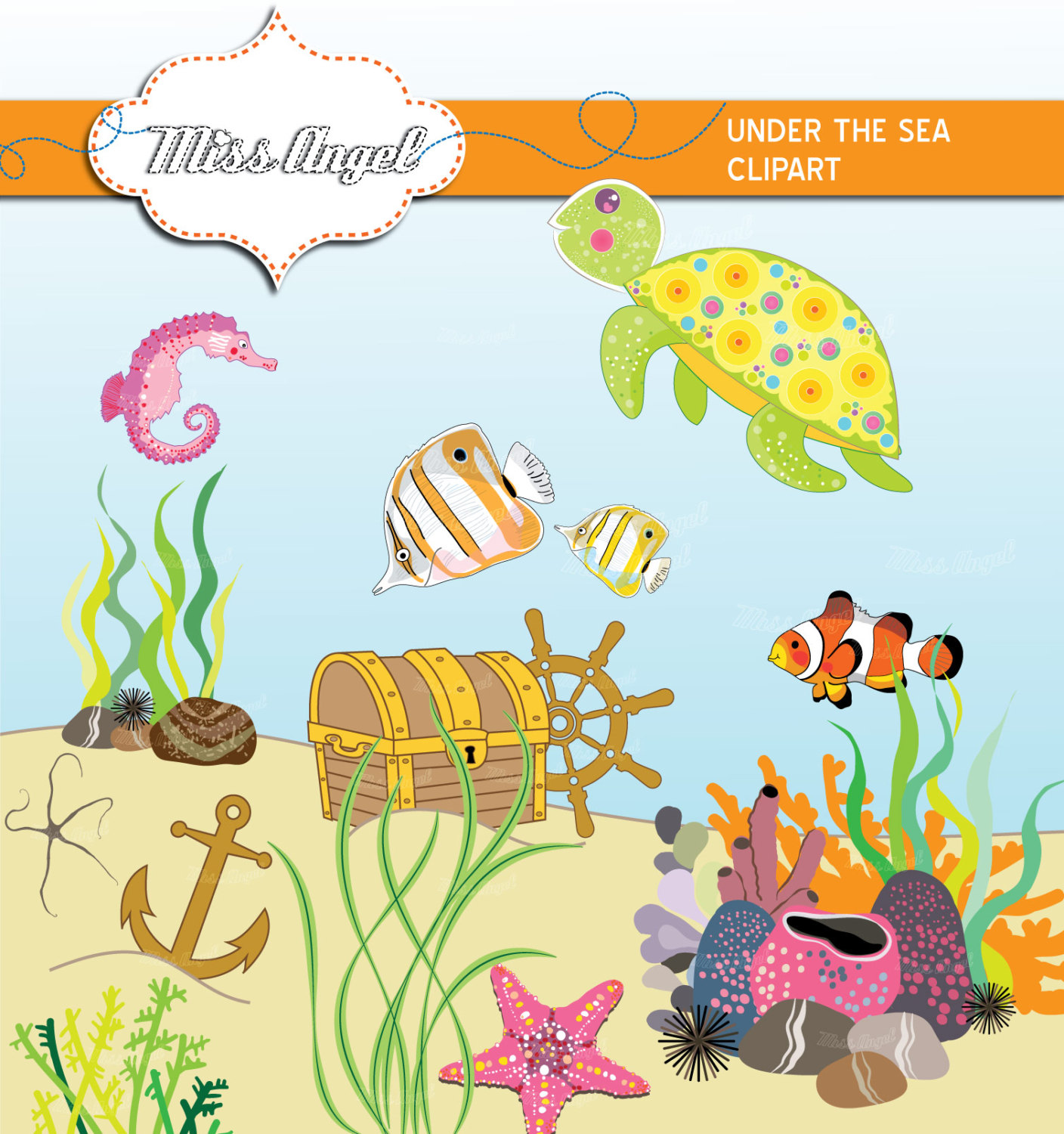 Sea clipart sea world #7
