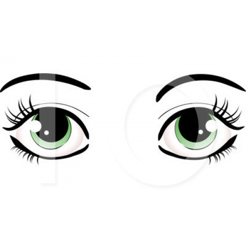 Eyeball clipart closed eye  I Can Clipart See