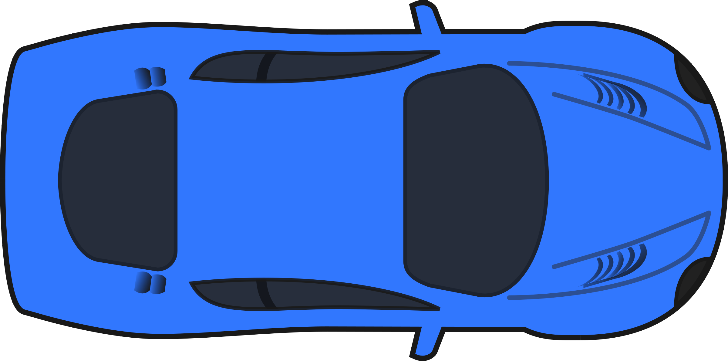 Blue Car clipart transparent car  on Free clipart view