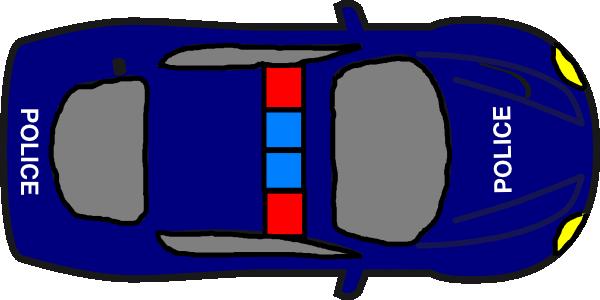 Blue Car clipart car aerial view Vehicle clipart view view top