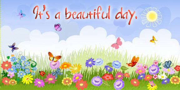 See clipart beautiful day #14