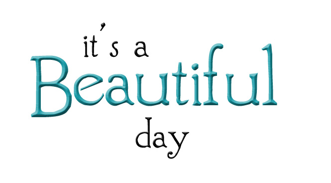 See clipart beautiful day #3