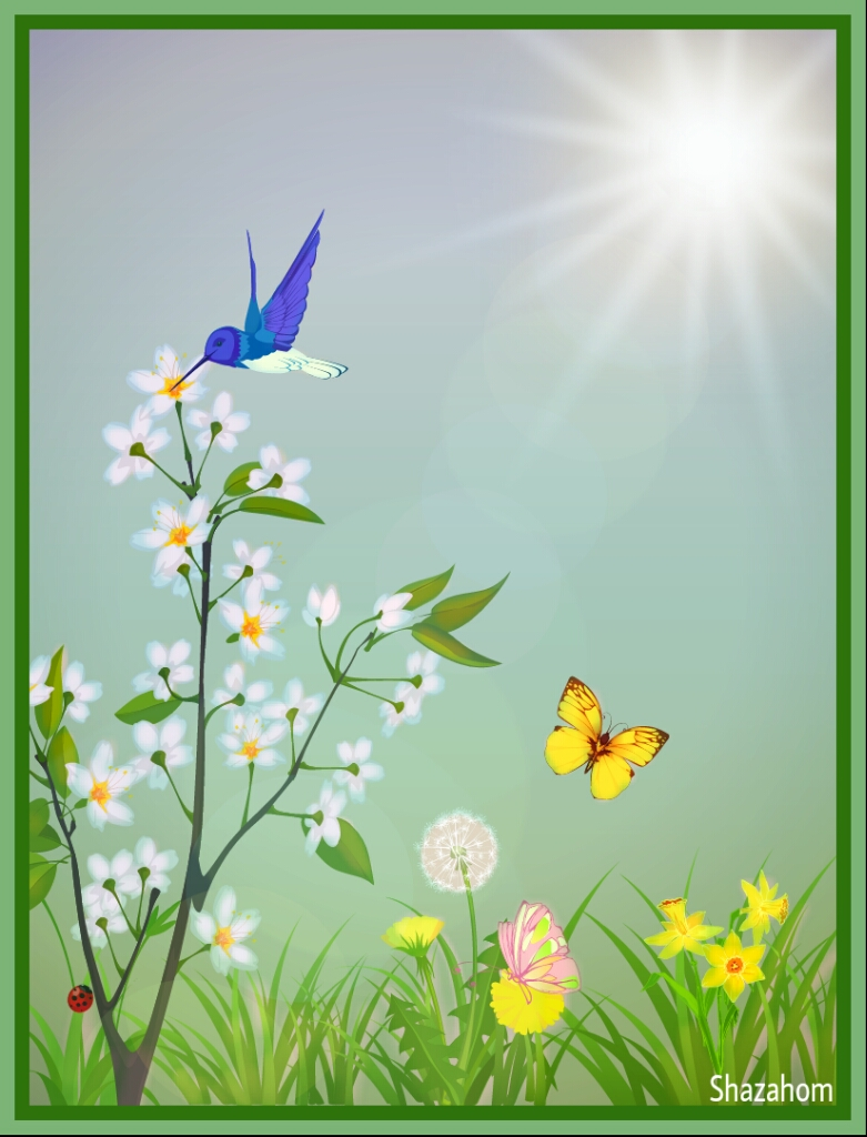 See clipart beautiful day #7