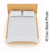 See clipart bed top Clipart of  bed