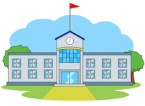 Larger clipart school building Clip and Buildings  Free