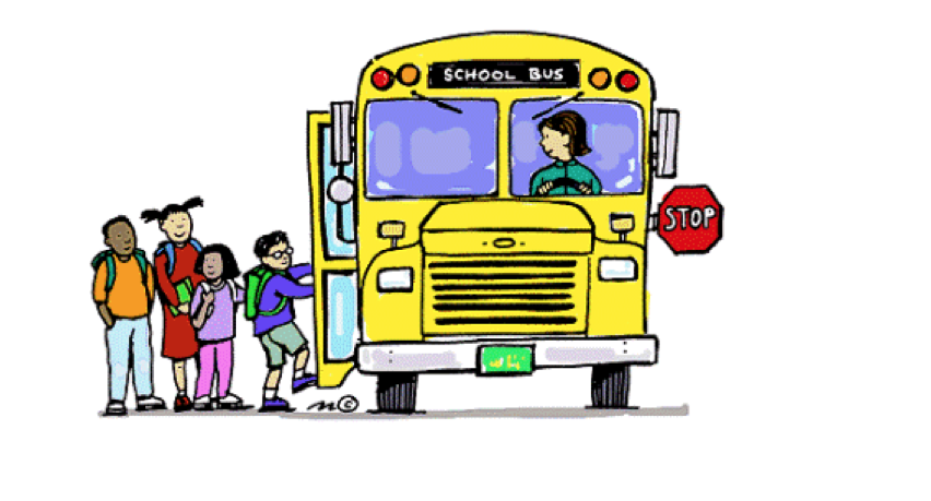 See clipart bus back To back Bus on school