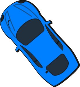 Blue Car clipart cool car Top Art Clker Car