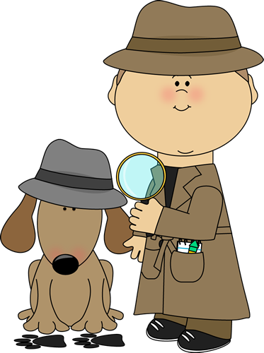 Animal clipart detective Art collection clipart Detective Images
