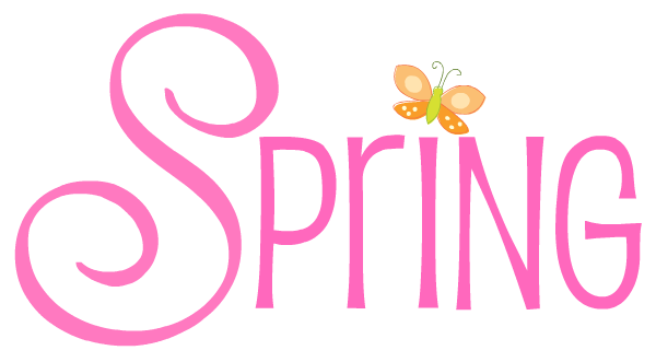 Text clipart spring Free Images Free Free Clip