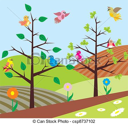 See clipart early spring #4
