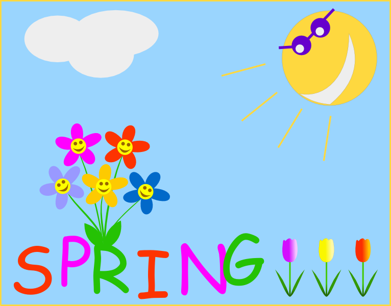 See clipart early spring #6