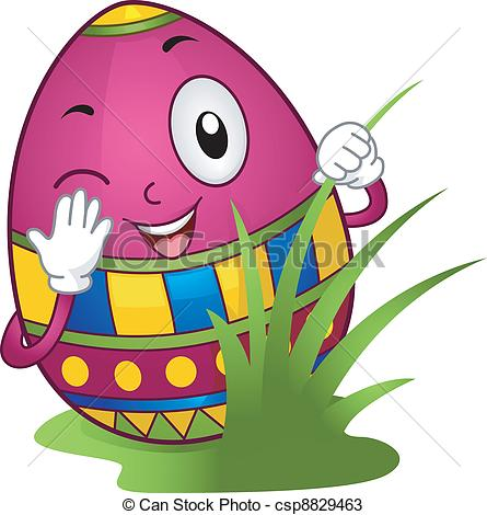 See clipart easter egg hunt #11