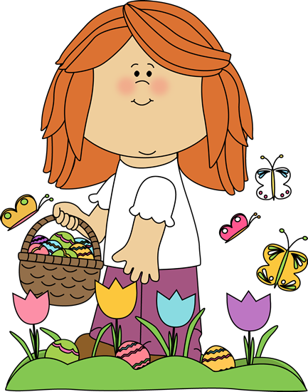 See clipart easter egg hunt #5
