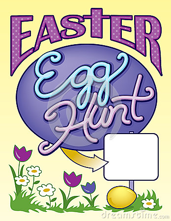 See clipart easter egg hunt #15