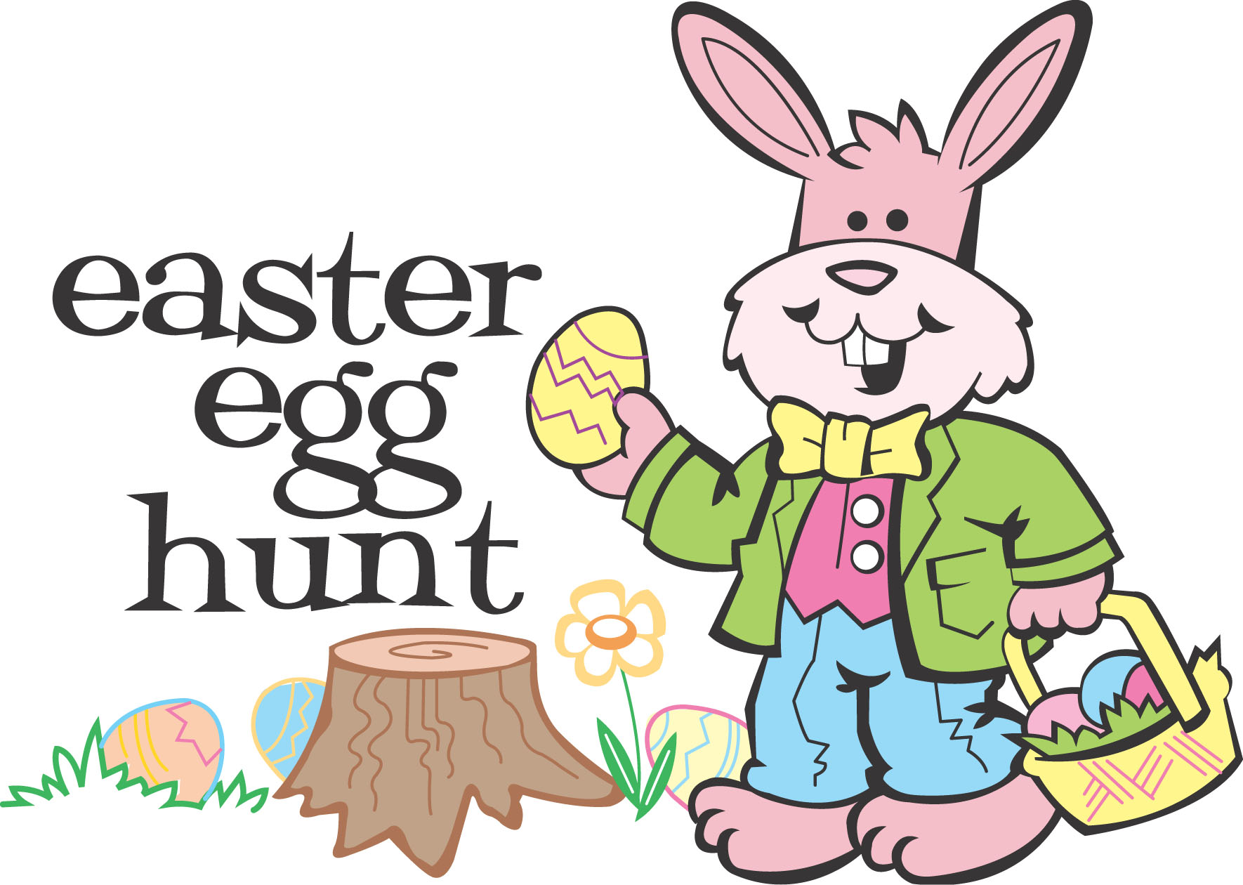 See clipart easter egg hunt #8