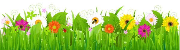 See clipart flower meadow Bordas and Clipart Grass with