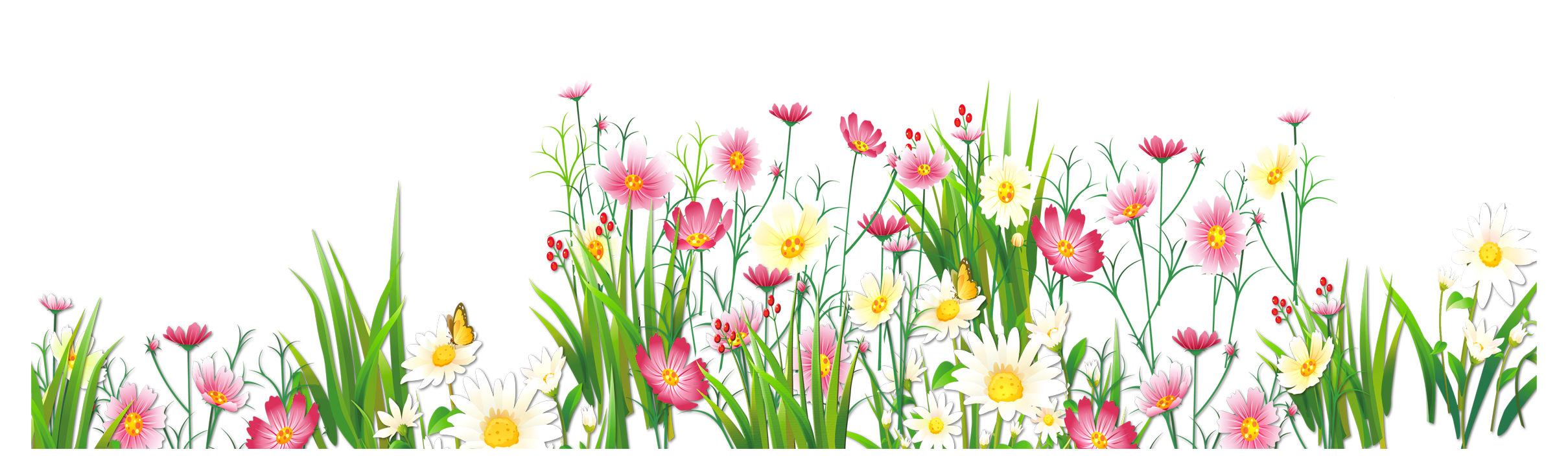 See clipart flower meadow Flowers PNG Picture full View