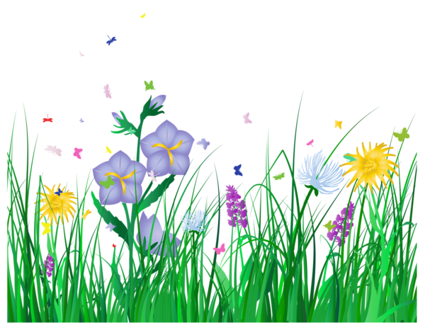 See clipart flower meadow и Pinterest and Деревья Transparent