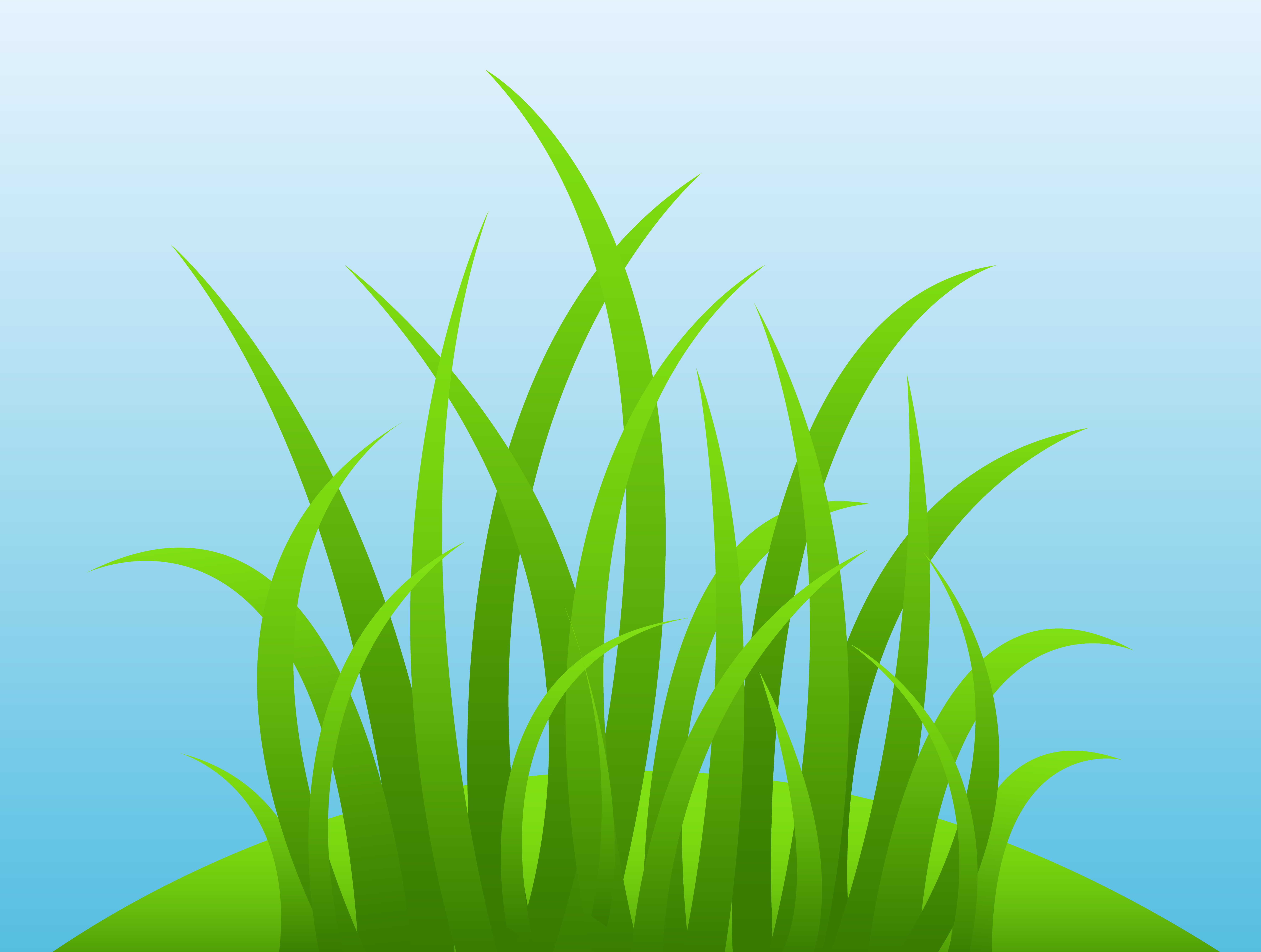 Drawn hill grassy hill Background on Grass Sky Hill