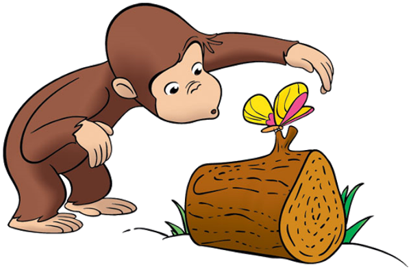 """See clipart inquisitive Curious_george_8 AMBER George: 3'4"""" Opposable"""
