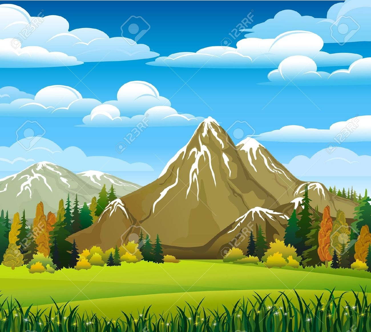 Background clipart mountain Collection Mountains mountain Clipart Clip