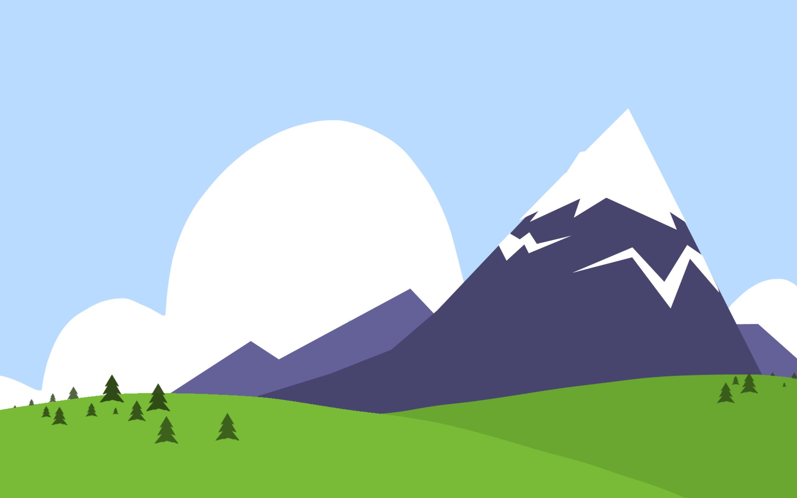 Mountain clipart cartoon Illustrations clipart  Mountain Mountain