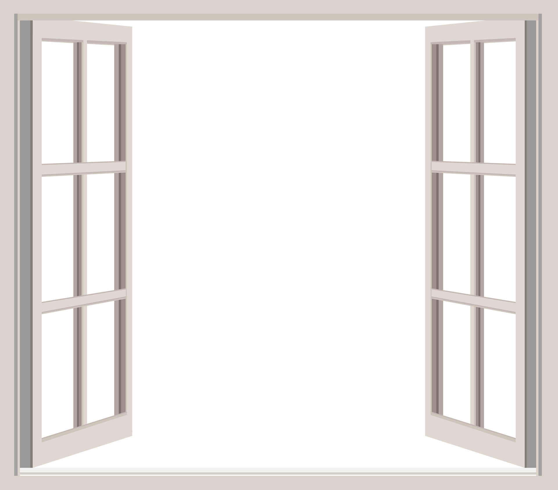 Window clipart window frame Clipart Pictures Window Free Open