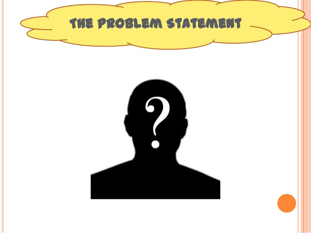 Statement clipart problem statement Problem 7 statement Empathy and