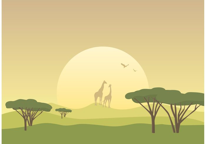 Savannah clipart african savanna #3