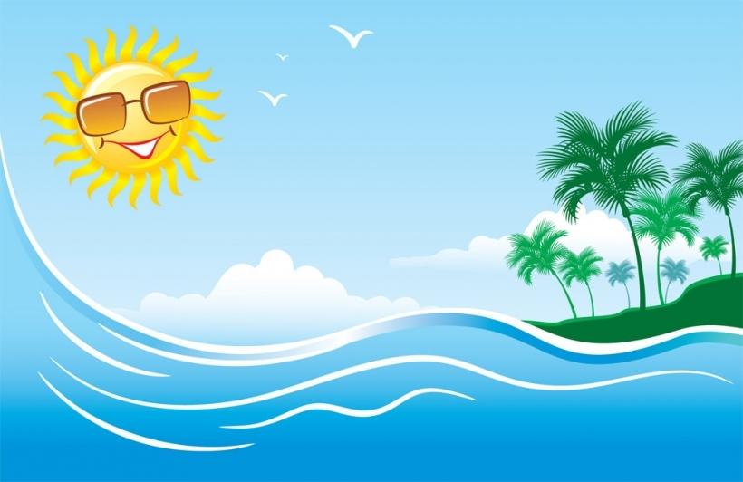 Wallpaper clipart sun Summer wallpaper with inside clipart