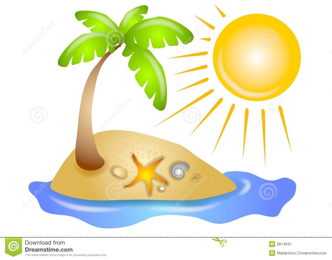 See clipart sun beach Clipart Beach Download Palm Palm