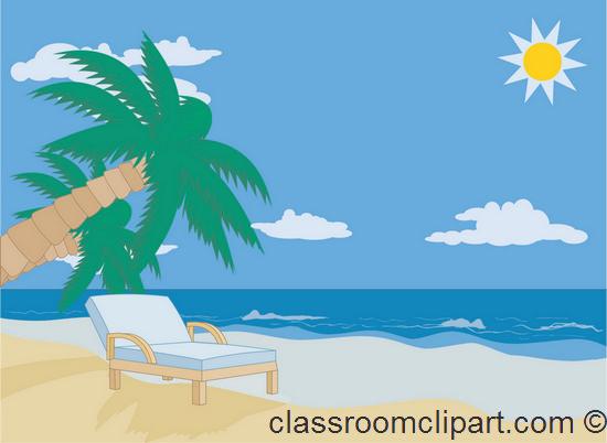 See clipart sun beach ClipartAndScrap images Beach 4 clipart