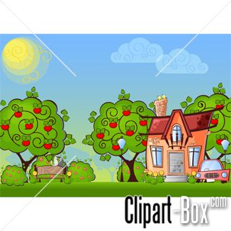 Rural clipart surroundings On houses images Pinterest HOUSE