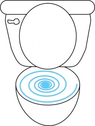 Bowl clipart flush toilet Pictures Art Clipart Panda Clipart