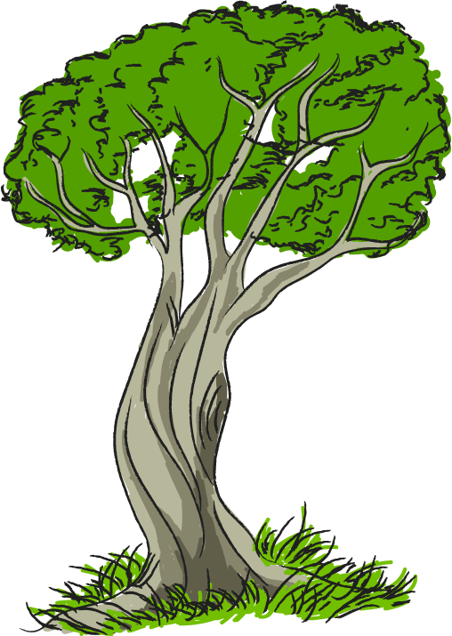 See clipart tree grass Art trees Clipartix image nature