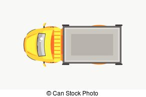 See clipart truck top Trailer with tractor with Light