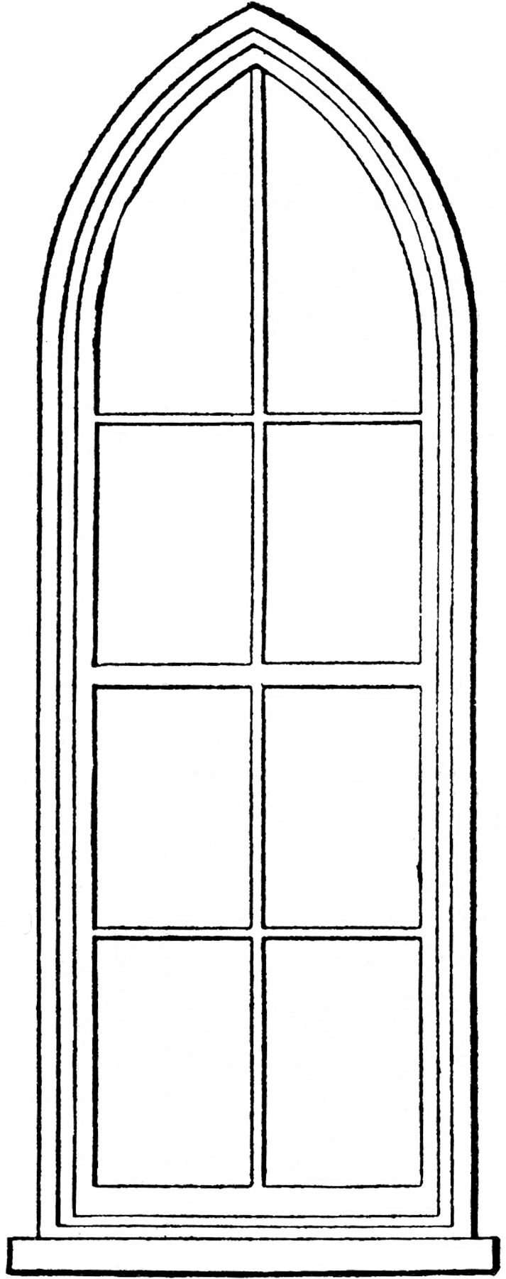 Window clipart rectangle #15 clipart drawings clipart Download