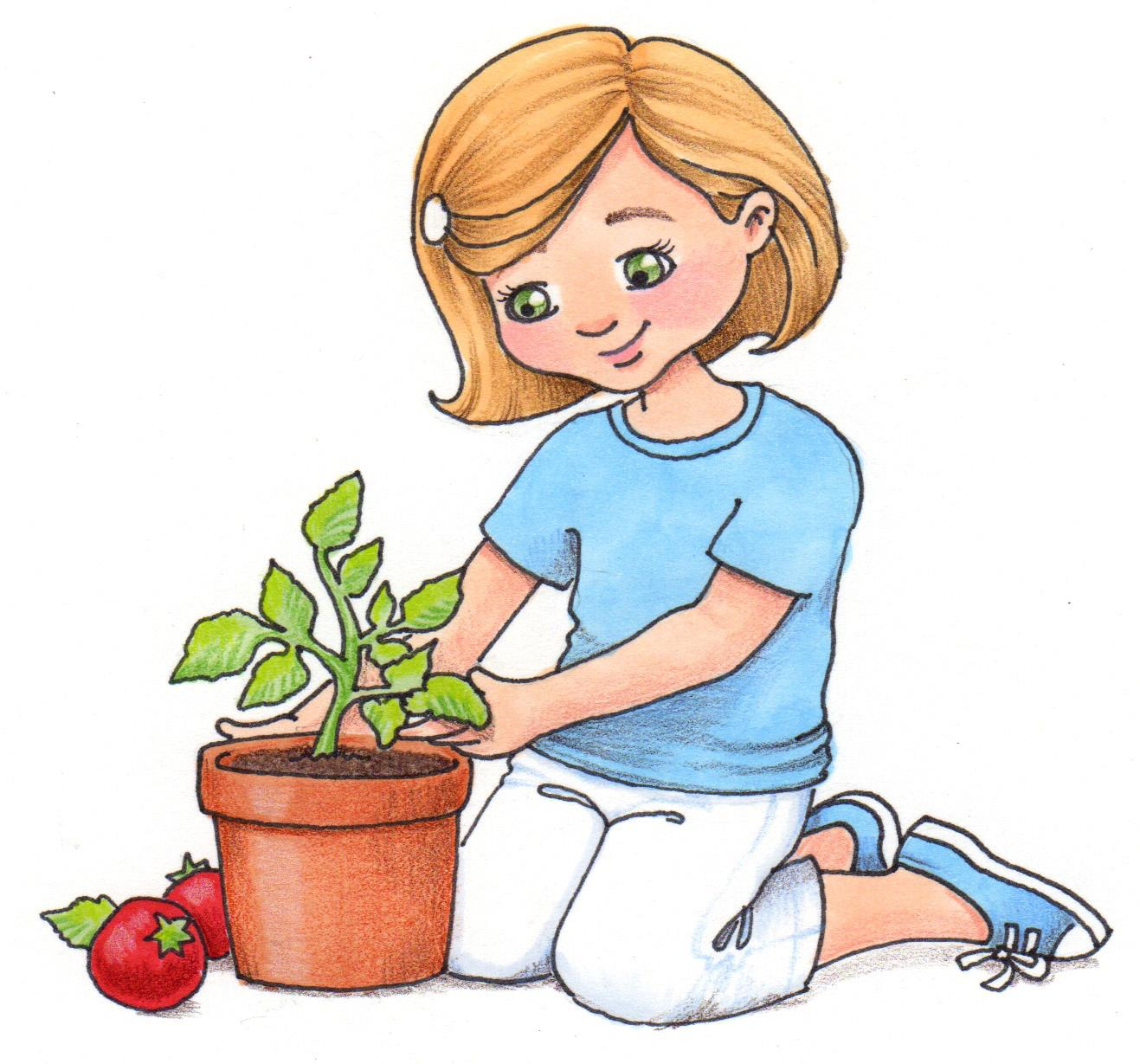 Seed clipart kid plant Growing Kids clipart 28 (55+)