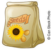 Seed clipart sunflower seed Art 257 44 and pack