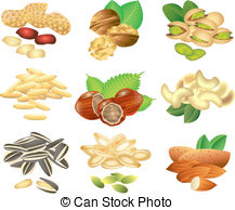 Seeds clipart Set  and free seeds