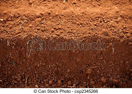 Soil clipart clay soil Red agriculture fields Image to