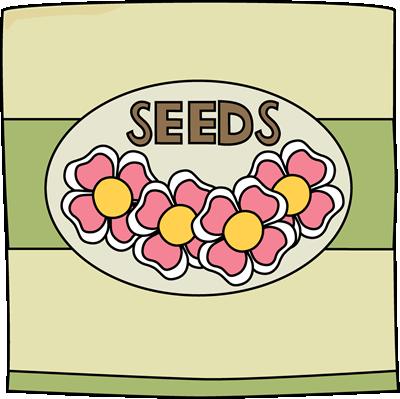 Seed clipart cute Images Art Packet Flower Garden